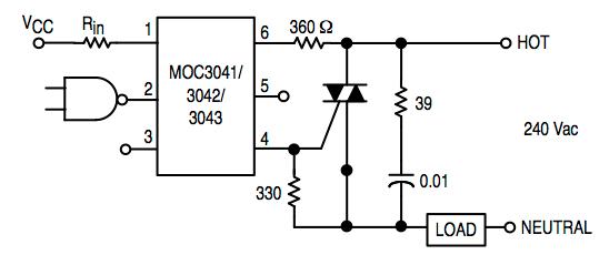 triac control circuit