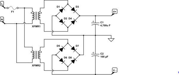 figure 5 current limiting circuitry from lm317 datasheet