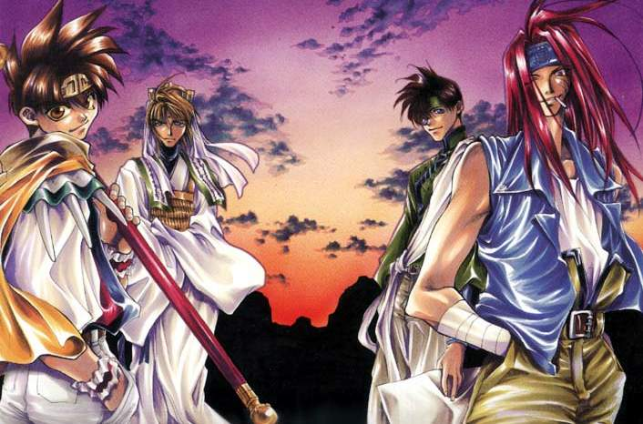 Good Wallpaper Hd Saiyuki Need To Find Anime With A Half Demon Protagonist