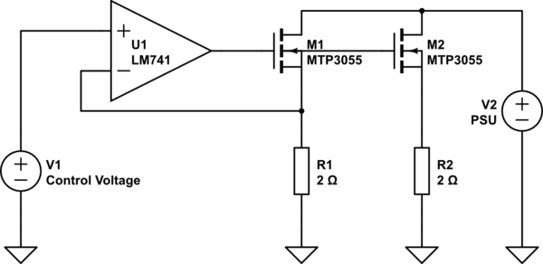 constant current load circuit