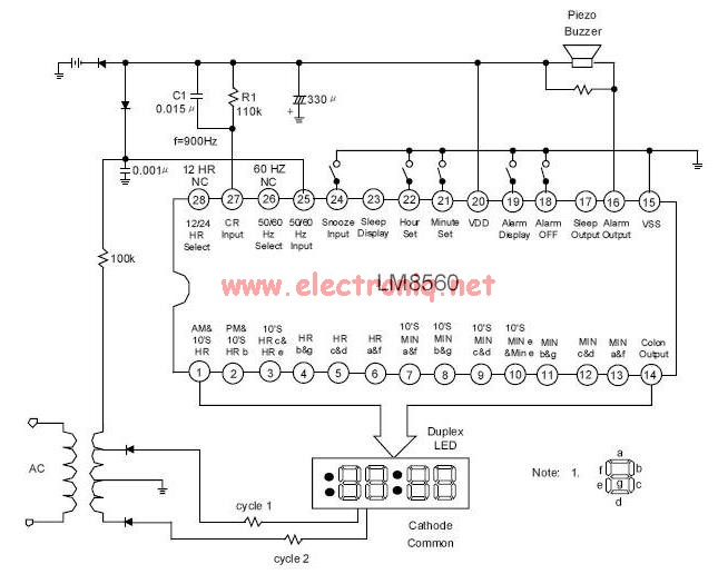 ac - How to make a duplex 7 segment display - Electrical Engineering
