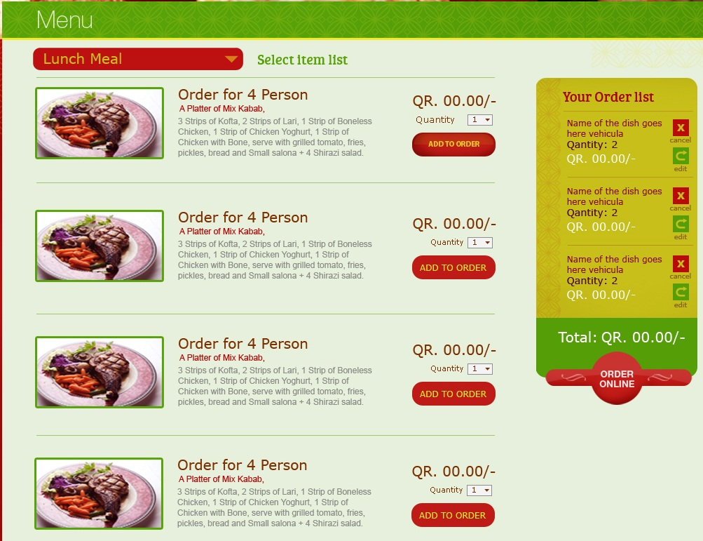 ubercart - eCommerce system with simple order form - Drupal Answers - food order form