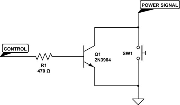 hacking laptop power button strange capacitor effect electrical