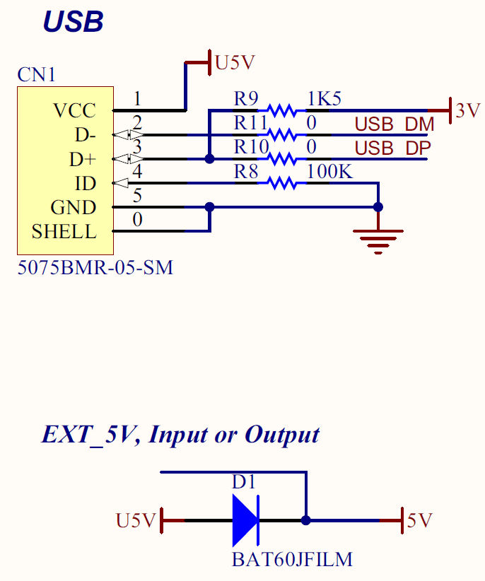 usb switch schematic