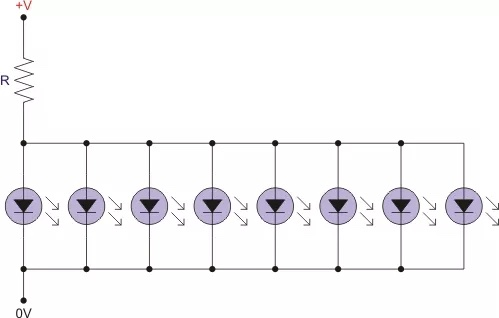 voltage - Is it OK to put LEDs in parallel? - Electrical Engineering