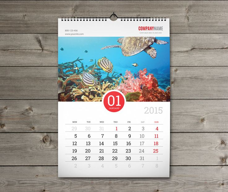 print production - InDesign template for calendar printing - Graphic - sample indesign calendar