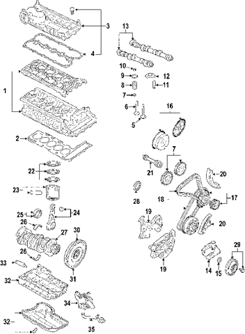2008 vw jetta engine diagram