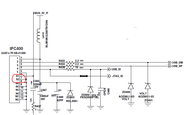 micro usb cable pin diagram