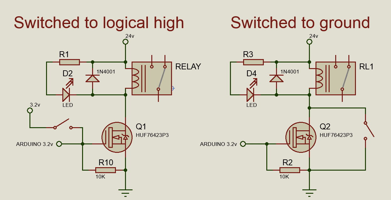 24v Led Arduino - Two Issues, Re: Driving Relay With Logic Levels