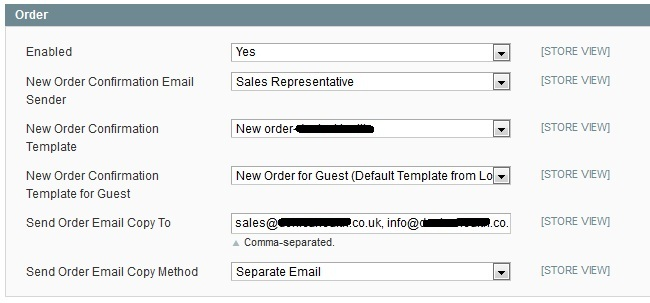 Magento v17 - admin can not receive email after new order is