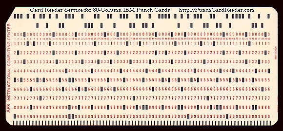 history - Why is 80 characters the \u0027standard\u0027 limit for code width - punch cards