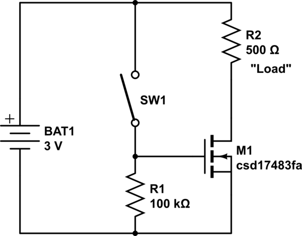 latching momentary switch circuit