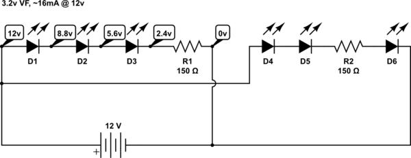 circuitlab basic led circuit