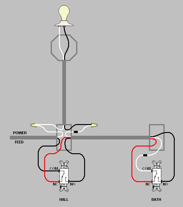 three way switch no power