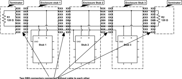 rs422 wiring diagram rs422 circuit diagrams