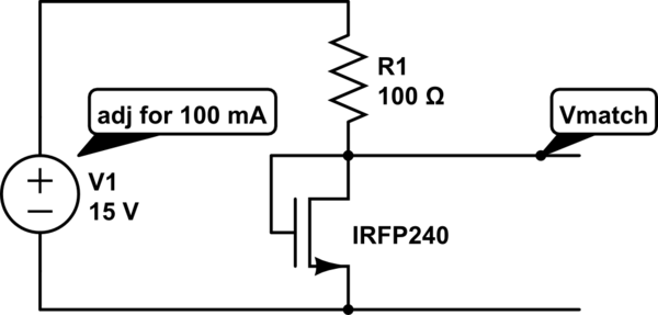 matching mosfets