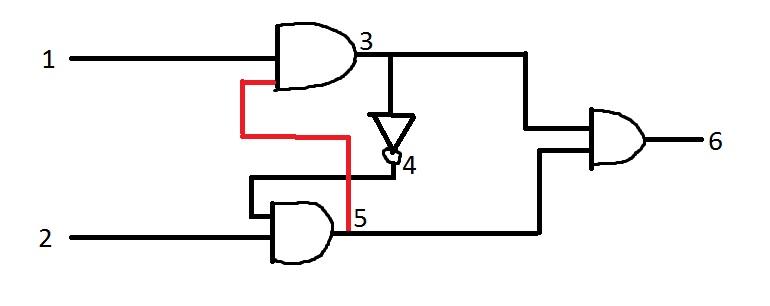you can simulate the logic circuit and configure the simulation