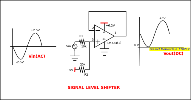 re voltage shifter circuit