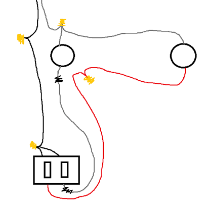diagram of 3 way switch wiring with 14 3 wires