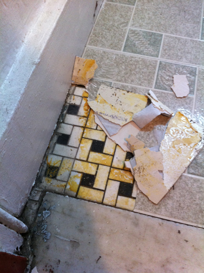Removal - How To Remove Old Vinyl Tiles? - Home Improvement Stack