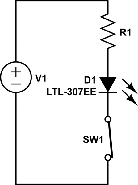 completed common emitter circuit