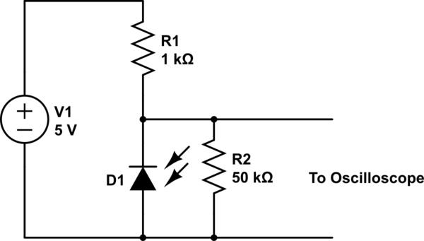 transimpedance amplifier for measuring the output of a photodiode