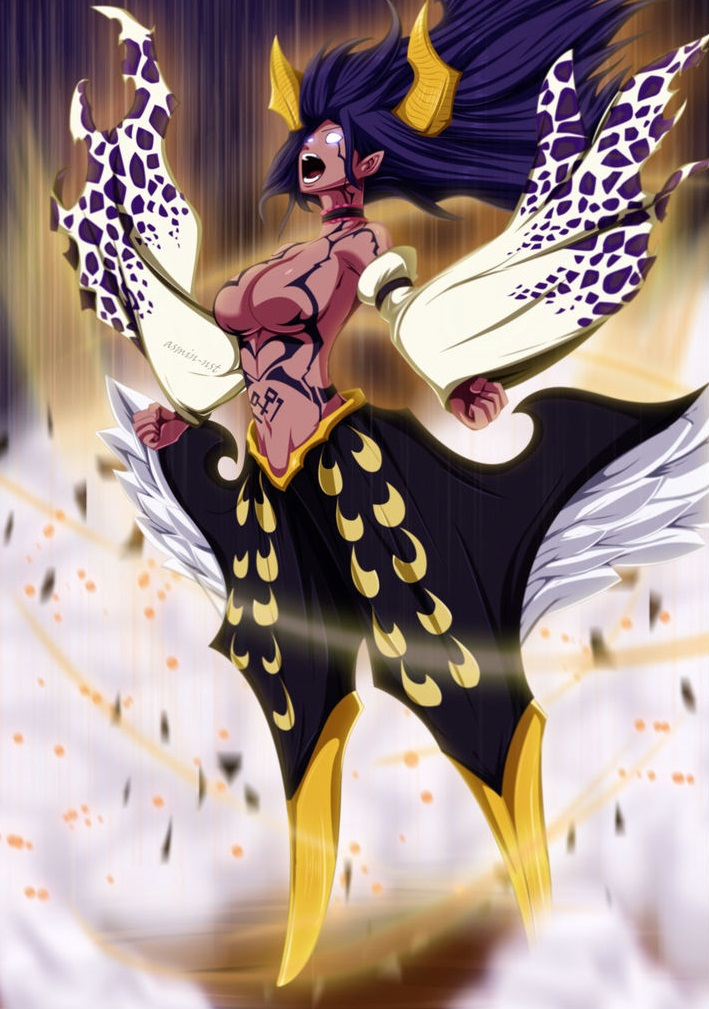 fairy tail how many demon forms does mirajane have