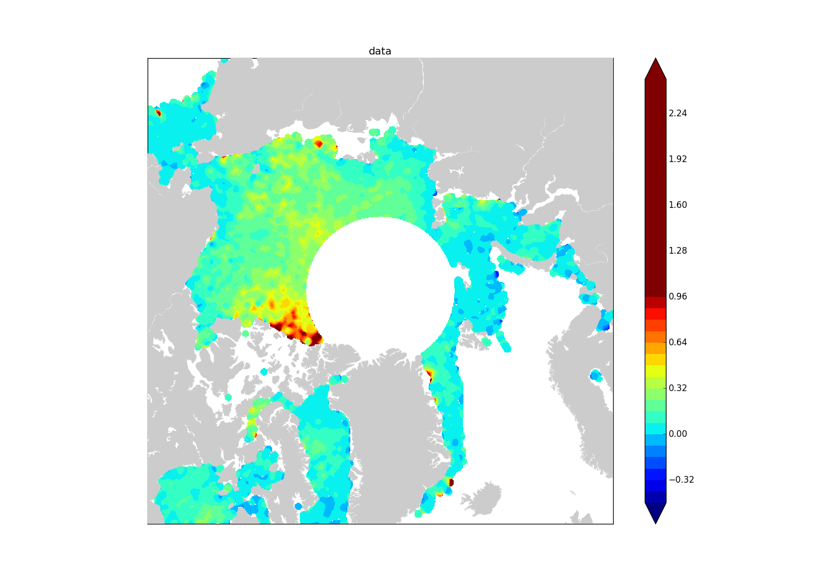 Set_bad Cmap Python Pyplot Colormap With Extend Option In Contourf
