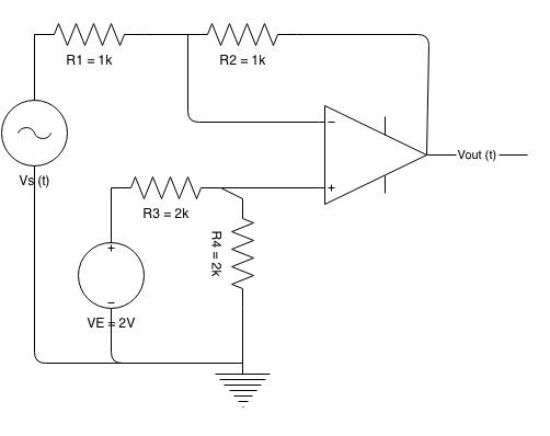 draw the circuit diagram for voltage source