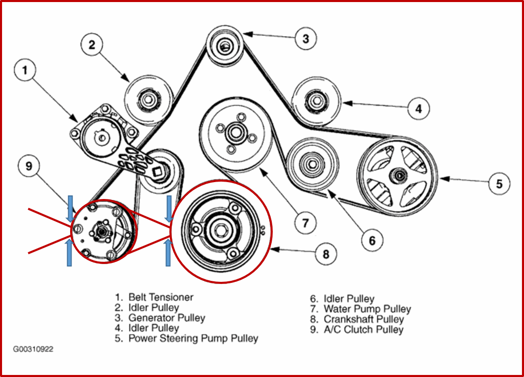 350 engine belt diagram for a boat