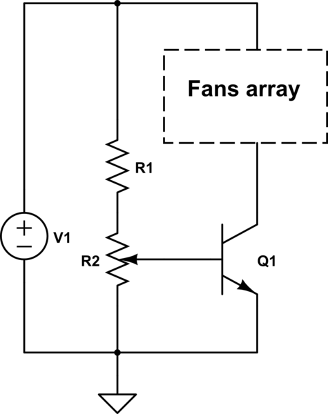 circuitlab lm317 fan speed controller