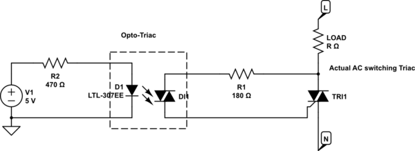 snubber circuit triac needs a snubber circuit