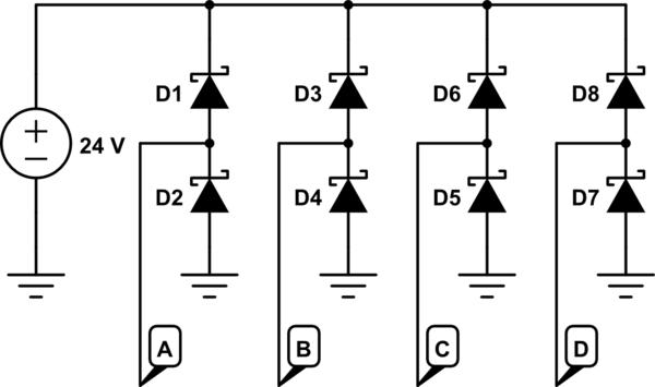 schottky diode circuit