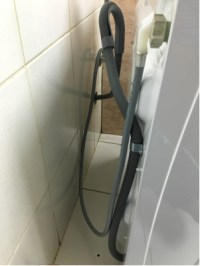 plumbing - Drain hose of washing machine too low? - Home ...