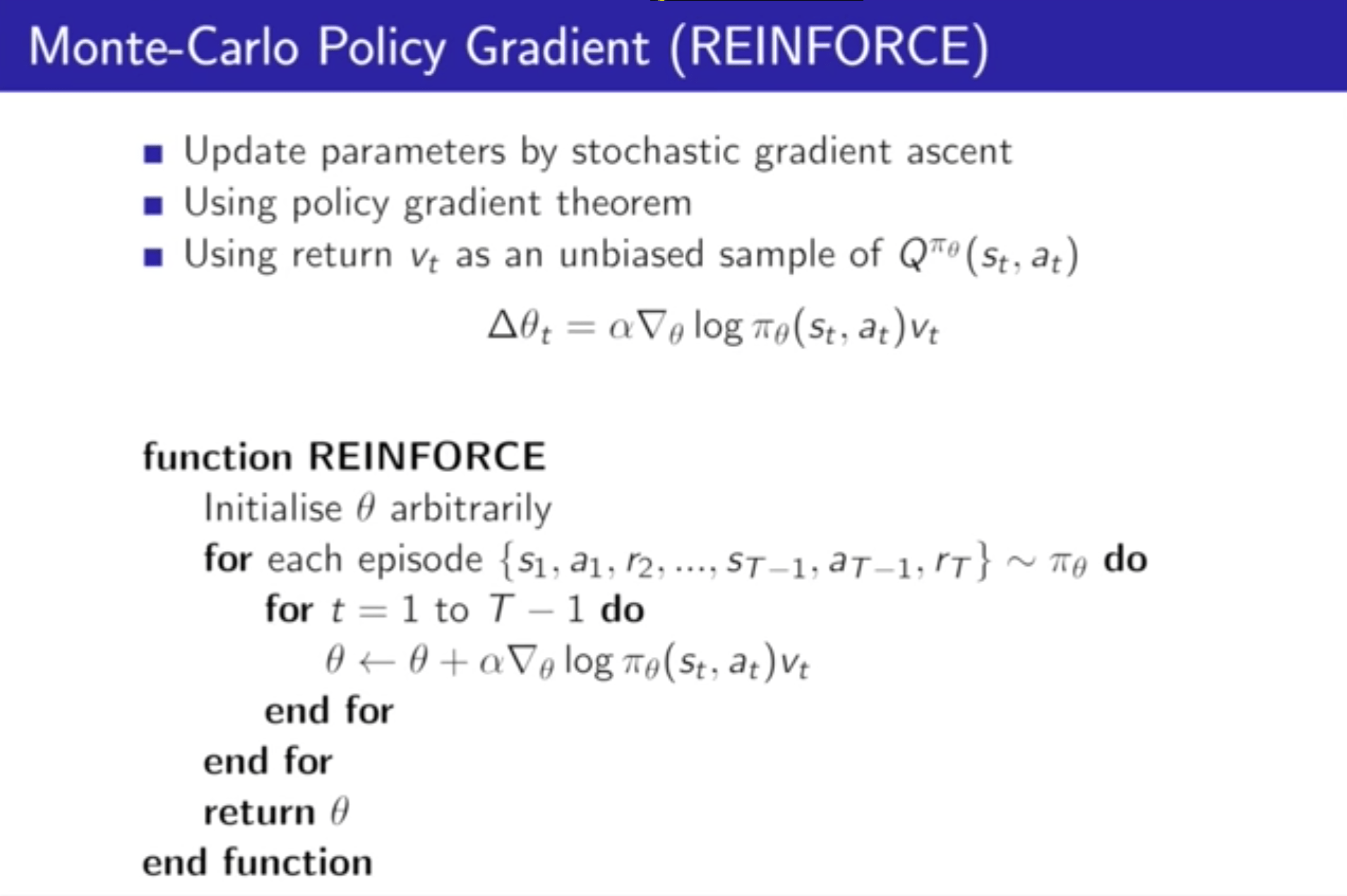 Renforce Learning Reinforcement Learning Rl Policy Gradient How To Deal