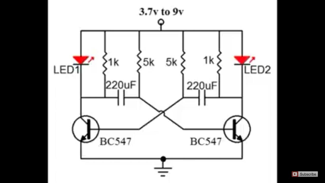 led oscillator circuit automat3d