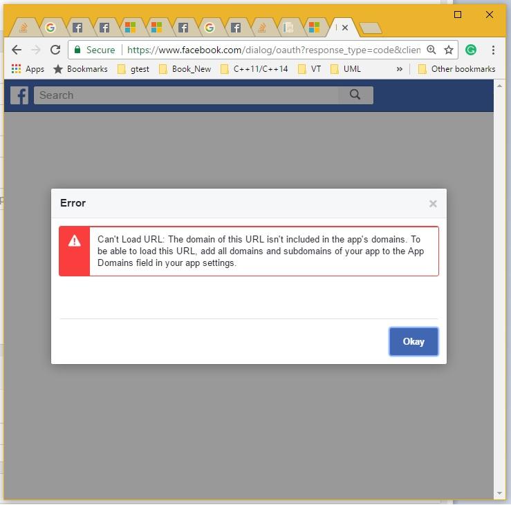 Facebook login implementation in ASPnet MVC 5 - Stack Overflow
