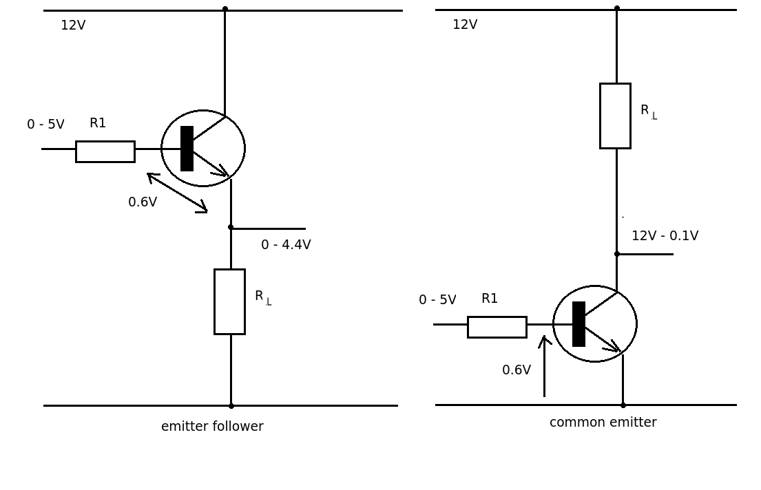 emitter follower circuit