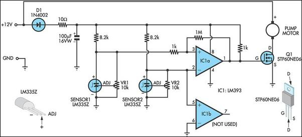 dark sensor circuit using ldr
