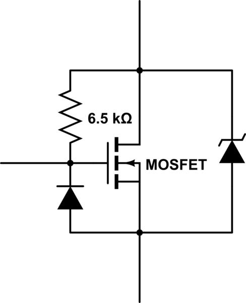 mosfet 2n7000 behaviour explanation