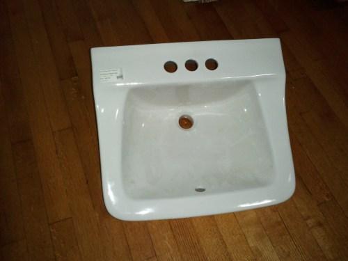 Medium Of Wall Mount Bathroom Sink