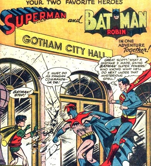 dc - Are there criteria for being a super hero and does Batman meet