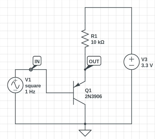 this information is the circuit effectively a 33v level convertor
