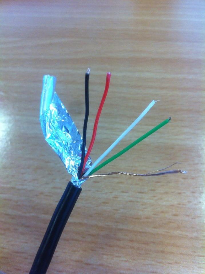 ground - Extra bare wire in USB cable - Electrical Engineering Stack