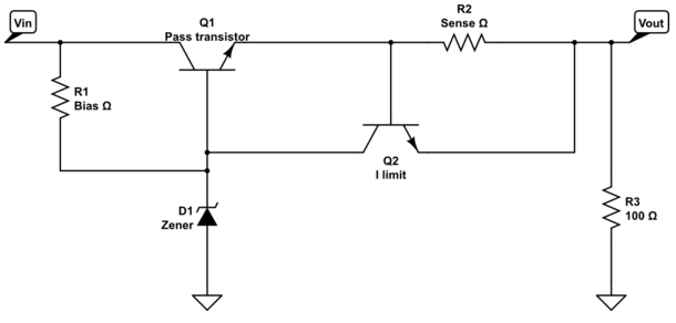 current limiting diode circuit