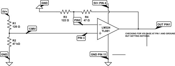 op amp circuit using lm224