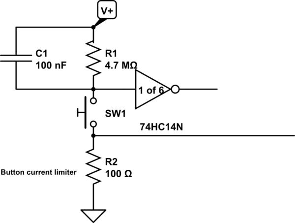 dropperlatch pulse extender schematic