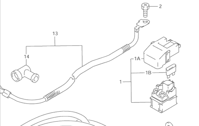 1995 suzuki katana 750 motorcycle spark plug wire diagram