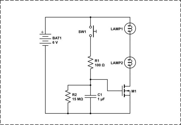 one shot 555 timer circuit
