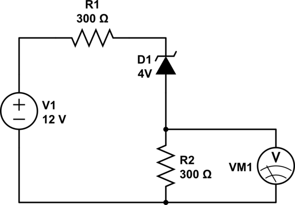 resistor diode circuit
